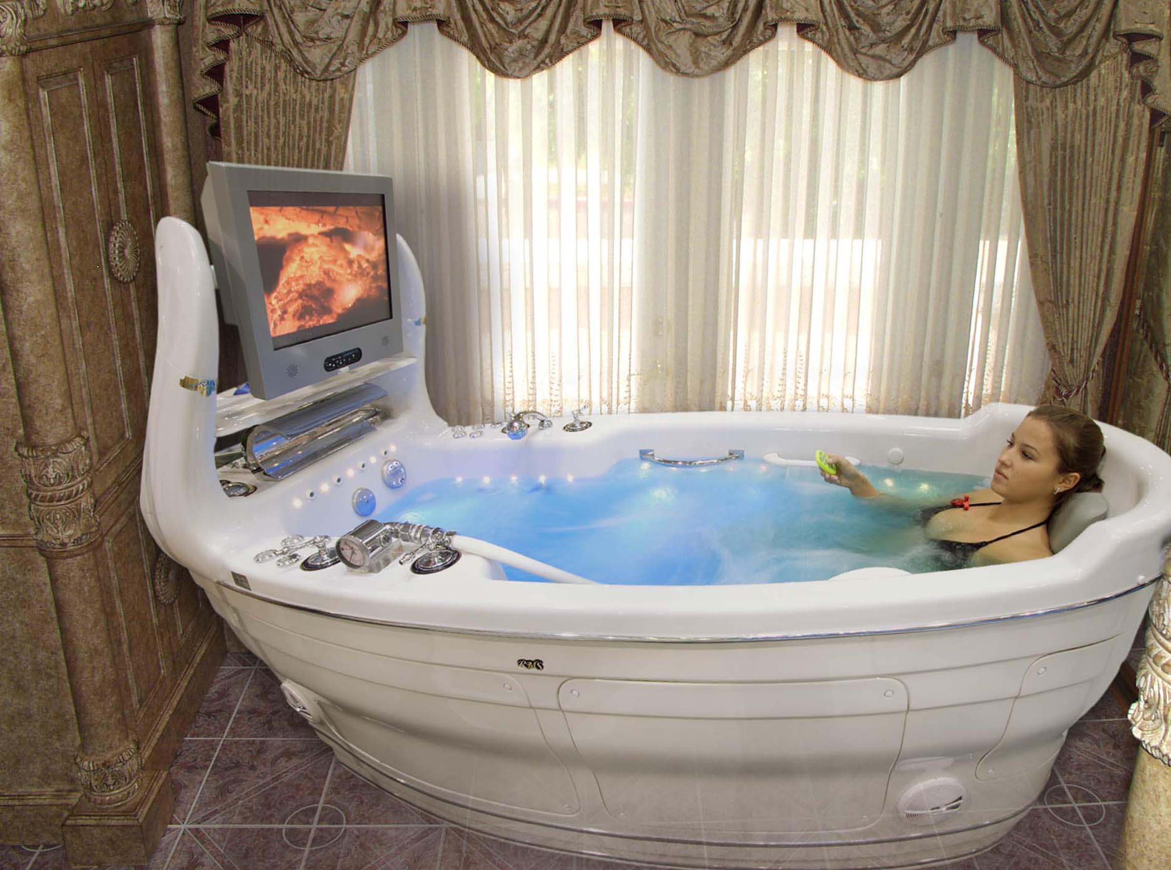 Гидромассажная ванна С-280 T-REM CP- LE Фото, Изображение