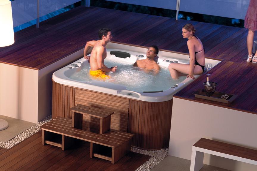 Как сделать спа бассейн 153